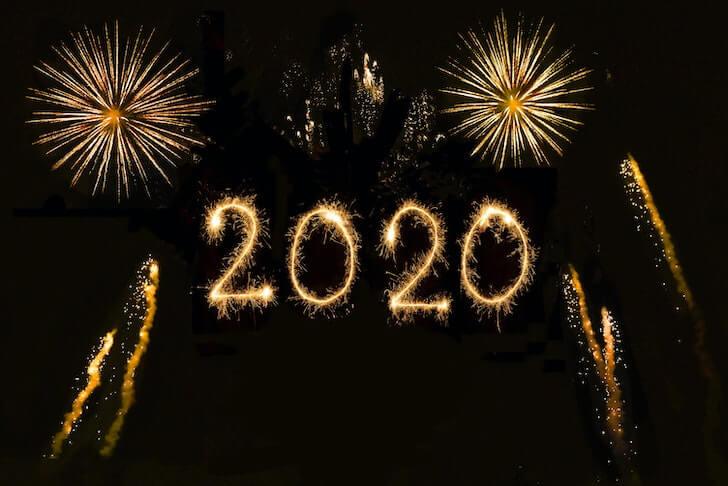 2020の花火